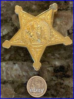 Uss Michael Monsor Ddg 1001 Chiefs Mess Usn Us Navy Zumwalt Coin Badge Purple