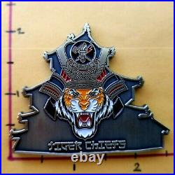 VAW-125 Tigertails JAPAN Navy Chief Coins RARE