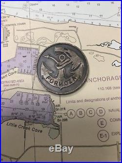 Very Rare Polish Navy SEAL Challenge Coin (Formoza)