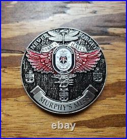 Very Rare! V4 Navy Chiefs CPOA Challenge Coin USS Michael Murphy (DDG 112)