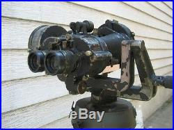 Wwii Royal Navy Ross Gunsight 7x50 Binoculars